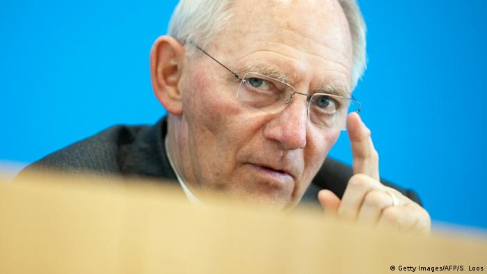 Bundesfinanzminister Schäuble (Foto: Getty Images/AFP)