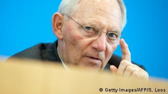 Deutschland Wolfgang Schäuble Finanzminister