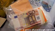 Frankreich gefälschte Euroscheine
