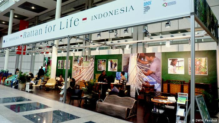 imm cologne 2016 - Rattan for Life-Austellung