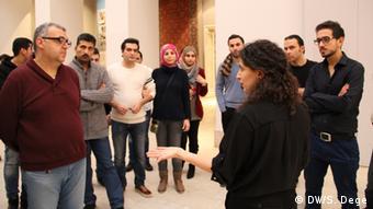 Flüchtlinge als Museums-Guides