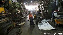Herstellung von Autoteilen in Faridabad, Indien