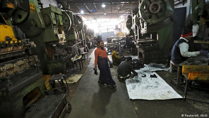 Car parts are being manufactured in in Faridabad, India