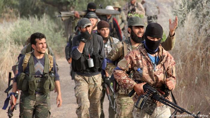 Боевики Фронта Ан-Нусра