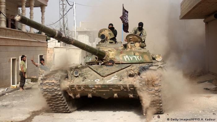 Syrien Islamistische Kämpfer der Al-Nusra Front