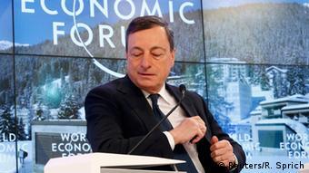 Mario Draghi at Davos