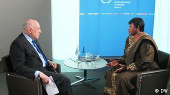 Chefanklägerin des Internationalen Strafgerichtshofes Fatou Bensouda bei Conflict Zone