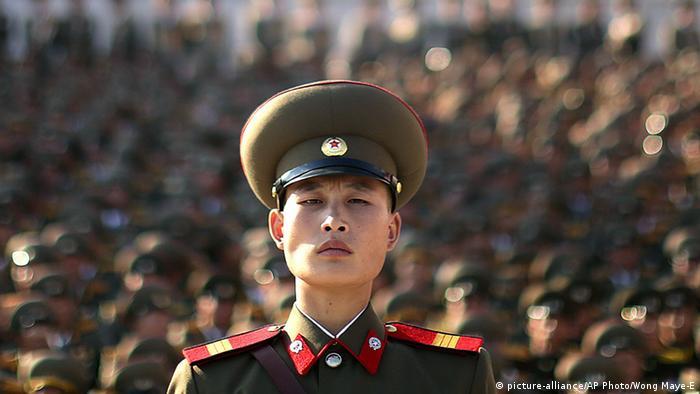 Nordkoreanischer Soldat