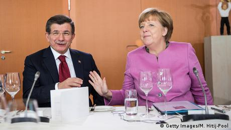 Deutschland Angela Merkel mit Ahmet Davutoglu