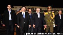 Iran Teheran Chinesischer Staatspräsident Xi Jinping