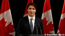 Kanada Premierminister Justin Trudeau PK Schießerei in Saskatchewan