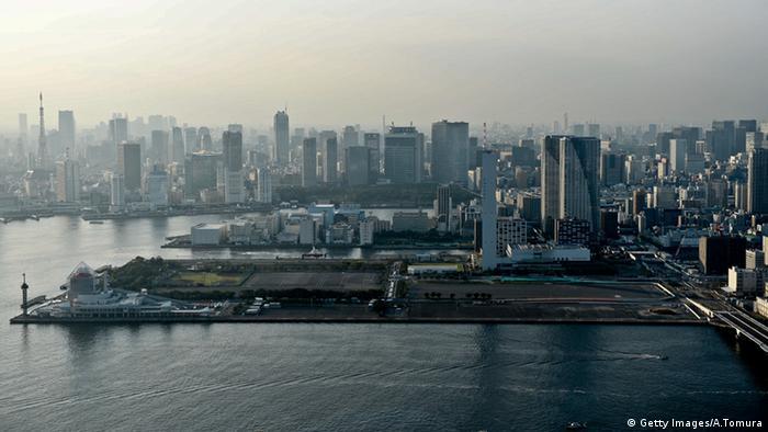 Japan Tokio Stadt Übersicht (Getty Images/A.Tomura)