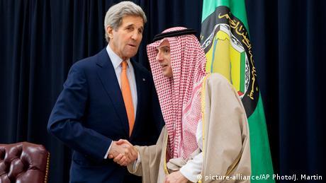 John Kerry in Saudi Arabien