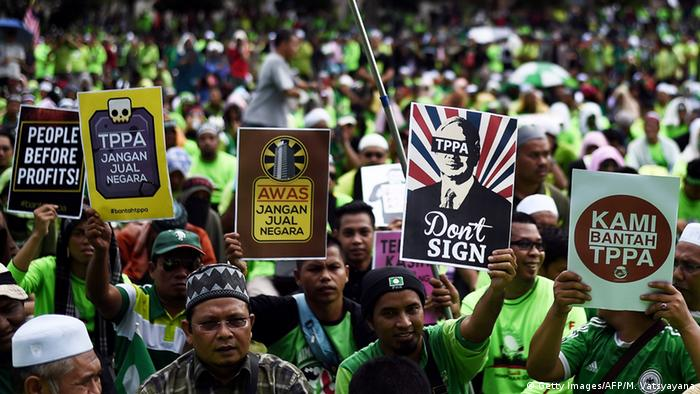 Critics say the agreement will undermine Malaysia's sovereignty