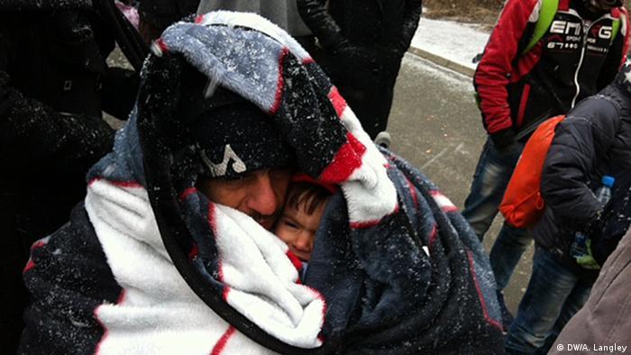 Flüchtlinge Slowenien