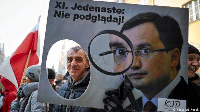 Proteste gegen die Regierung in Polen