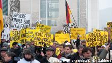 Bärgida-Demonstration in Berlin