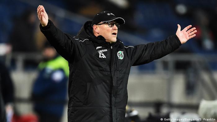 Fußball 1. Bundesliga 18. Spieltag Hannover 96 gegen SV Darmstadt 98