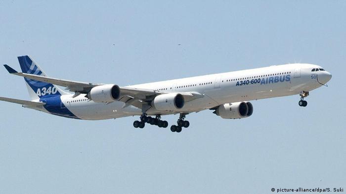 هواپیمای ایرباس مدل A340