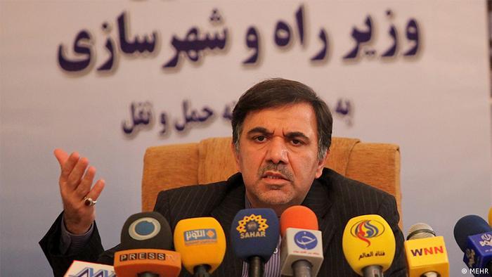 Abbas Akhundi der iranische Verkehrsminister
