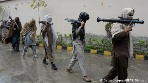 Taliban Afghanistan Friedensprogramm (Getty Images/AFP/N. Shirzad)