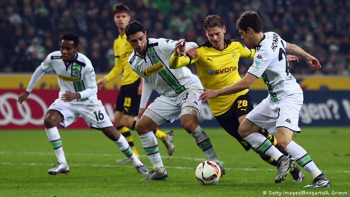 Lukas Piszczek Borussia Mönchengladbach vs. Borussia Dortmund