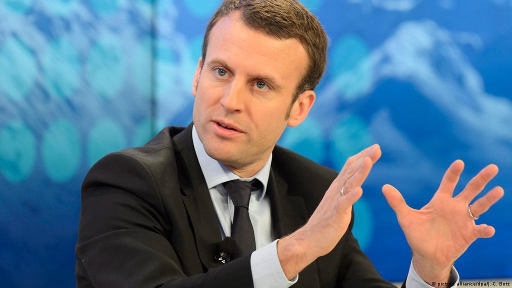 Emmanuel Macron Kimdir Avrupa Dw 07 05 2017