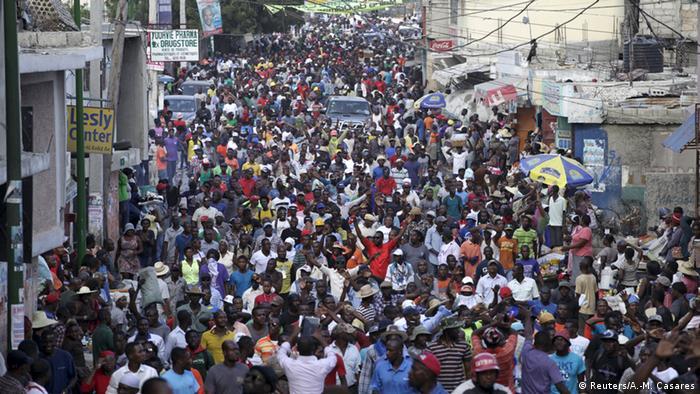 Haiti Proteste gegen Präsident Michel Martelly