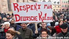 Deutschland Proteste von Russlanddeutschen für mehr Sicherheit