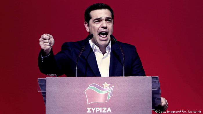 Griechenland Alexis Tsipras (Foto: Getty Images/AFP/A. Tzortzinis)