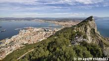 Gibraltar, View to Mediterranean Sea. +++ (C) Imago/Westend61