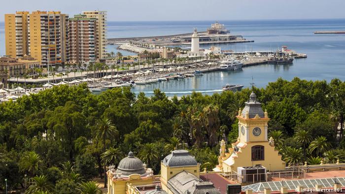 El sismo se sintió en varias localidades españolas, especialmente en Málaga (foto) y Melilla.