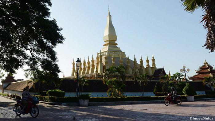 Laos Vientiane Stadtansicht (Imago/Xinhua)