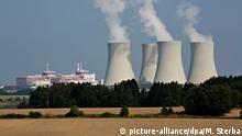 Nuclear power plant Temelín in the south of the Czech Republic