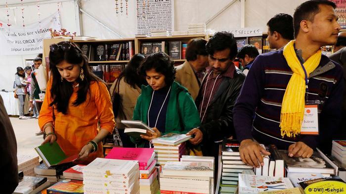 Jaipur Literaturfestival (DW/J. Sehgal)