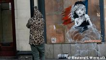 England Street Art Graffiti von Banksy in London