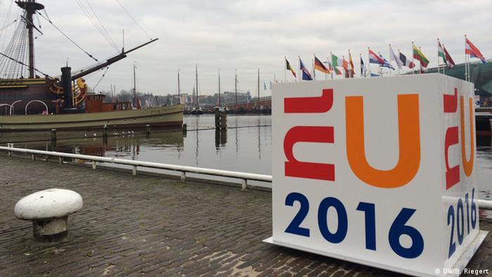 В Амстердаме во время проведения встречи глав МВД стран ЕС