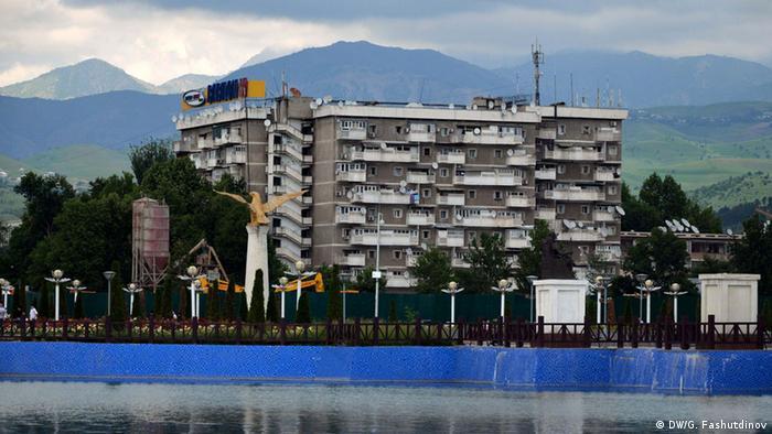 Многоквартирные дома в Душанбе