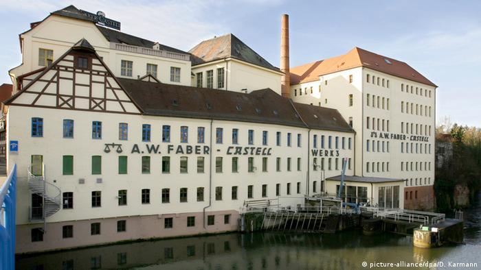 Faber Castell Minen-Produktion in Stein