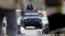 Ägypten Sicherheitsmaßnahmen am 5. Jahrestag der Revolution