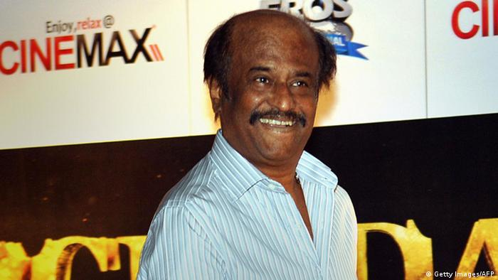 Indien Rajnikanth Bollywood Schauspieler (Getty Images/AFP)