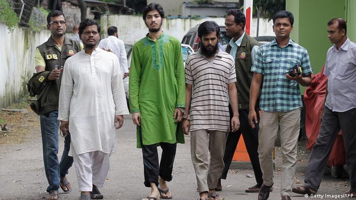 Bangladesch Festnahme der Mitglieder der ABT Terrorgruppe