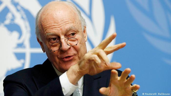 Спецпредставник ООН з Сирії Стаффан де Містура