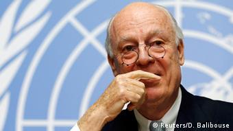 UN envoy for Syria Staffan de Mistura