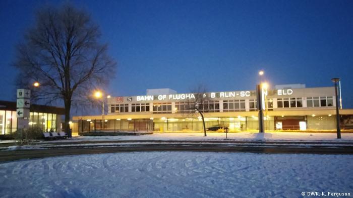 Schönefeld Airport at dawn
