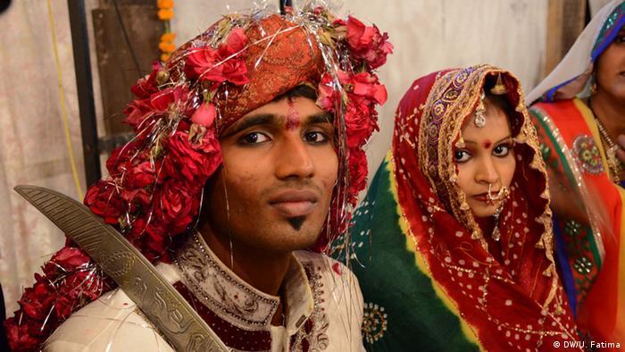 Pakistan Karatschi Hochzeitszeremonie (DW/U. Fatima)