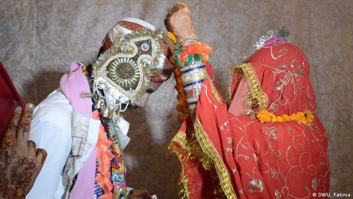 Pakistan Karatschi Hochzeitszeremonie