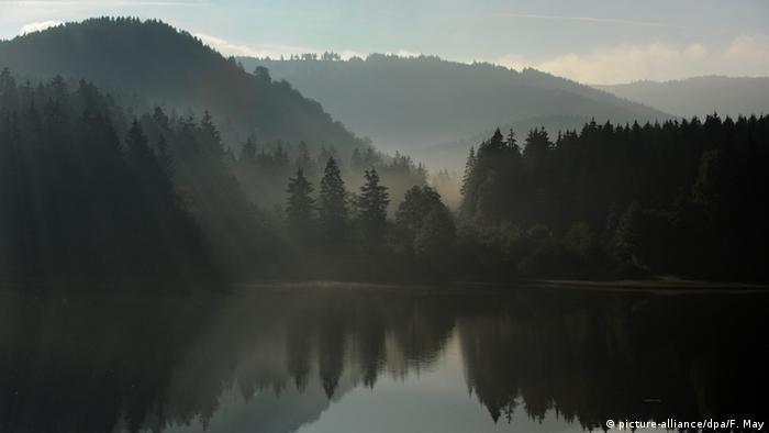 Водохранилище на реке Зёзе