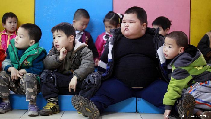 Chinas fetteste Kind