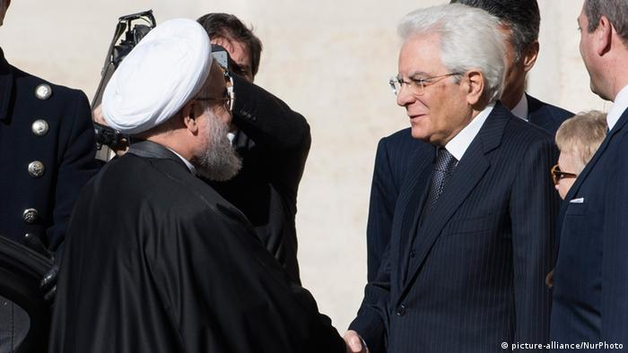 Hassan Rouhani in Rom